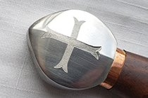 TEMPLAR CROSS ON A POMMEL
