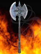 LARP Huge Two-handed Demon Axe