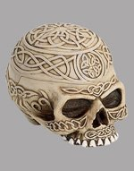Celtic Skull with Stash Box