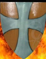 Crusader Style LARP / Foam Heater Shield