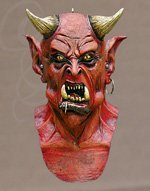 Prince of Darkness Latex Mask