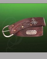 Robin Hood Wide Leather Belt