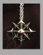Chaos Symbol Pendant and Chain