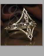 Anastasia Gothic Bracelet with Swarovski Crystals