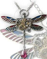 Dragon Fly Pendant - Clockwork Darter