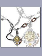 English Steampunk Necklace