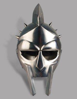 Maximus-Style Spiked Gladiator Helmet