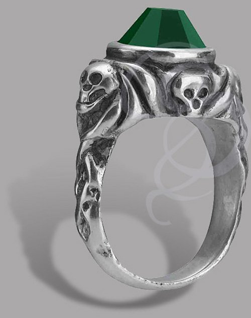 Jack Sparrow Ring :  sparrow design jewelry jewellery