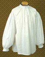 Henry VIII Courtly Shirt from The Tudors