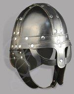 Leather Viking Spectacle Helmet