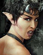 Latex Demon Ears