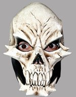 Lizzard Skull  Latex Mask