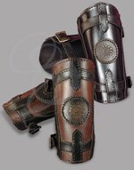 Sorcerer Leather Bracers