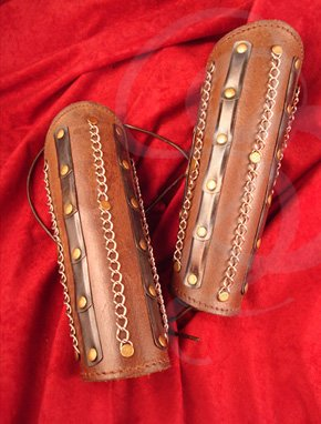 Overlord Leather Bracers