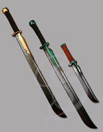 Ultra High-End Foam Boffer Elven Sword for Recreation or LARP