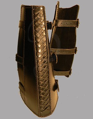 Assassin Leather Greaves