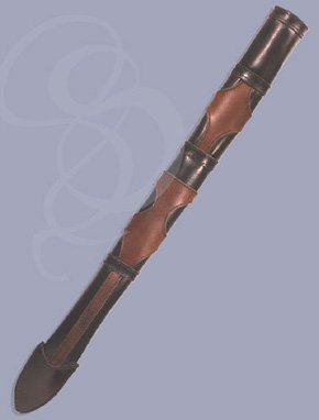 Noble Leather Scabbard for Latex and Foam Swords