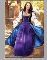Trissis Outer,Waist Size 22-25 in., Purple