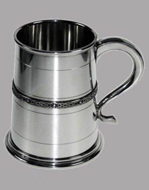 Pewter Celtic Tankard