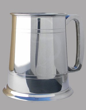 Pewter Lined Tankard